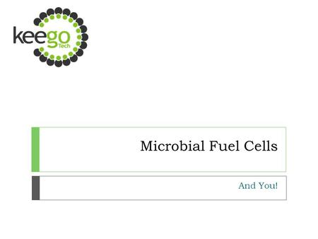Microbial Fuel Cells And You!. What are MFCs? o MFCs are bioelectrical devices that harness the natural metabolisms of microbes to produce electrical.