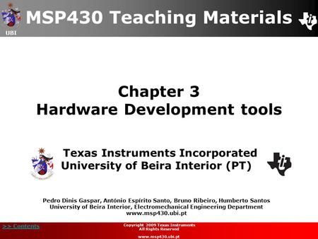 Chapter 3 Hardware Development tools