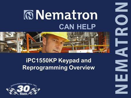 CAN HELP iPC1550KP Keypad and Reprogramming Overview.