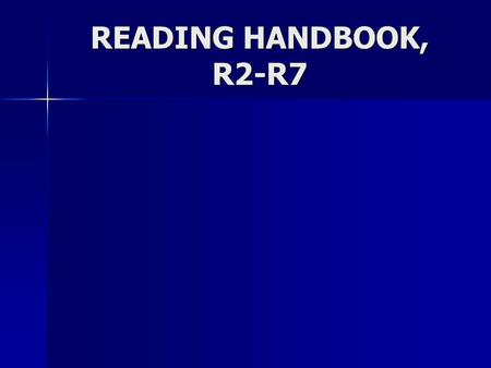READING HANDBOOK, R2-R7. Reading Literary Texts Literary texts include short stories, novels, poems, and dramas. Literary texts include short stories,