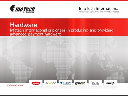 Hardware Infotech International is pioneer in producing and providing advanced payment hardware.