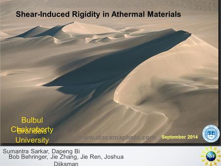 Shear-Induced Rigidity in Athermal Materials