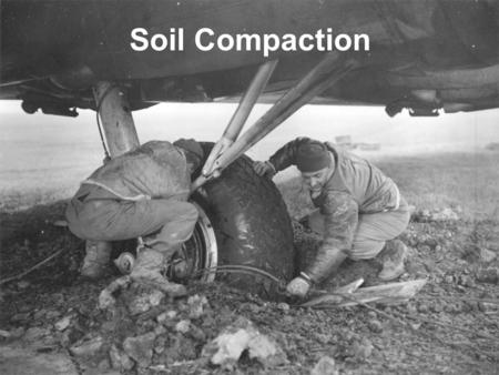 Soil Compaction. Compaction Compaction is the method of mechanically increasing the density of soil by removal of air. Dry density (  d ) is the measure.