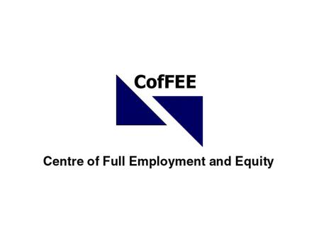 Creating effective employment solutions for regional Australia Professor Bill Mitchell Centre of Full Employment and Equity University of Newcastle NSW,