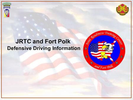 Defensive Driving Information