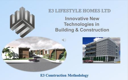 Innovative New Technologies in Building & Construction.