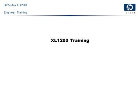 XL1200 Training.