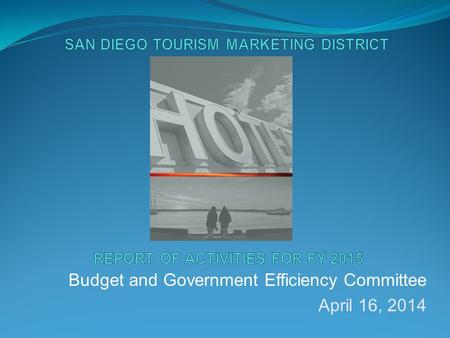 Budget and Government Efficiency Committee April 16, 2014.