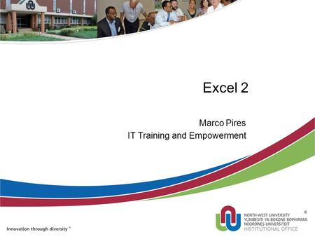 Excel 2 Marco Pires IT Training and Empowerment. Formulas Writing Excel formulas is a little different than the way it is done in math class. Excel formulas.