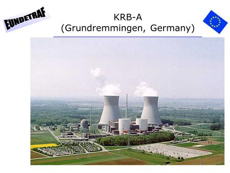 1 KRB-A (Grundremmingen, Germany). 2 Type:Boiling Water Reactor Power: 250 MW(e) Started in 1966, shut down in 1977 First commercial power reactor in.