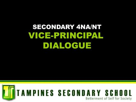 VICE-PRINCIPAL DIALOGUE