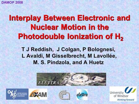 Interplay Between Electronic and Nuclear Motion in the Photodouble Ionization of H 2 T J Reddish, J Colgan, P Bolognesi, L Avaldi, M Gisselbrecht, M Lavollée,