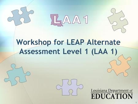 LAA 1 Professional Development