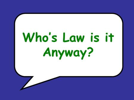 Who's Law is it Anyway?. 20 cm 30º 70º Which Law? x ASA a) Sine Ratio b) Cosine Ratio c) Tangent Ratio d) Sine Law e) Cosine Law f) Pythagorean Theorem.