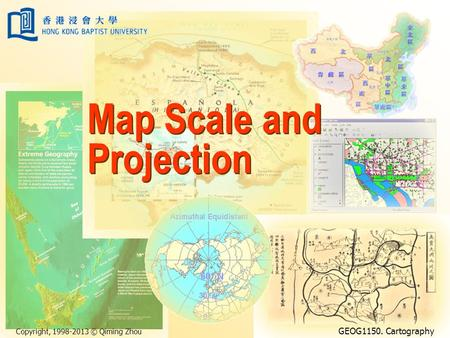 Map Scale and Projection