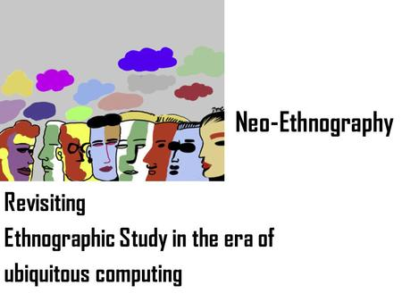 ethnographic essay a study of the