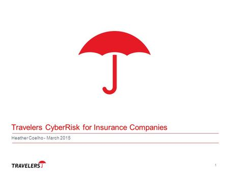 Travelers CyberRisk for Insurance Companies