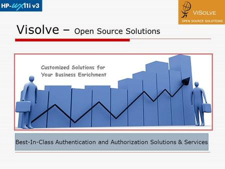Visolve – Open Source Solutions Best-In-Class Authentication and Authorization Solutions & Services.