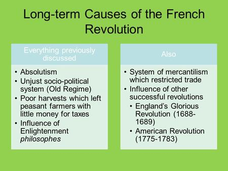 french revolution results essay Causes of french revolution essay examples 4,976 total results a study of the french revolution 761 words 2 pages an analysis of the causes of the french revolution.