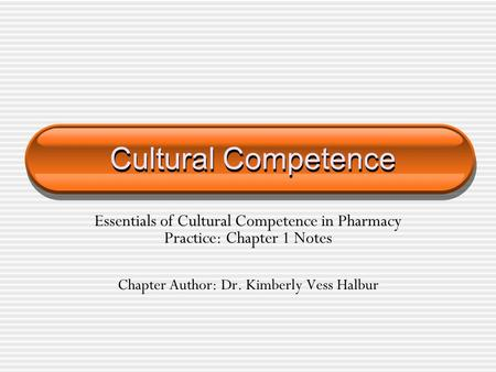 Chapter Author: Dr. Kimberly Vess Halbur