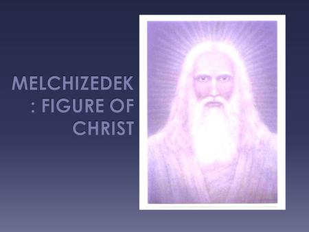  Melchizedek is the first Priest/King mentioned in the Bible in the Old Testament. He is from the city of Salem that later becomes Jerusalem.  There.