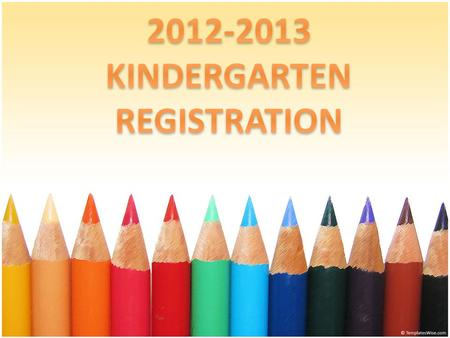 Children who will be five (5) years old by September 30, 2012 are eligible for Kindergarten. Eastwood School's Kindergarten Registration for the 2012.