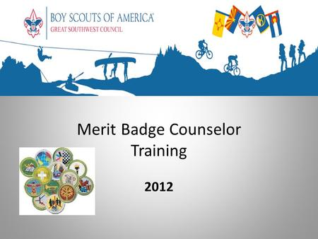 Merit Badge Counselor Training