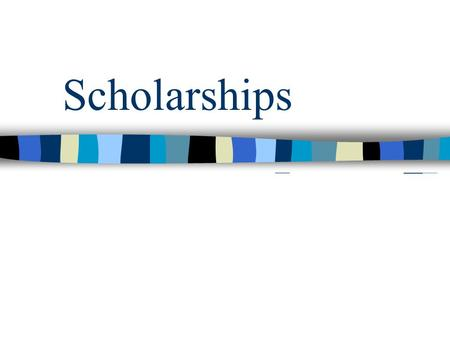 Scholarships. Check your credits Course History : Will show each class you take and the credit you got for it at the end of the semester.