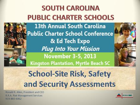 School-Site Risk, Safety and Security Assessments