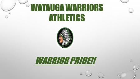 WATAUGA WARRIORS ATHLETICS