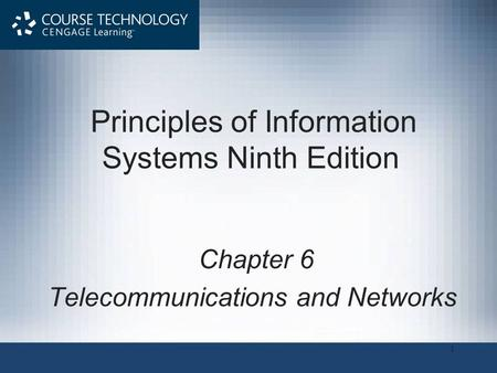Principles of Information Systems Ninth Edition