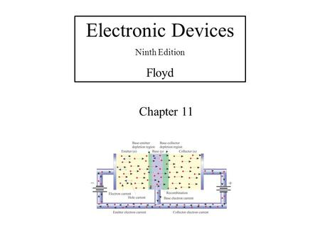 Electronic Devices Ninth Edition Floyd Chapter 11.