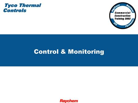 Control & Monitoring. 2 Control and Monitoring for the Commercial Construction Industry FWT-3.