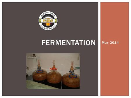 May 2014 FERMENTATION.  Fermentation is the process in which microorganisms convert organic compounds into a simpler compounds.  These organisms are.