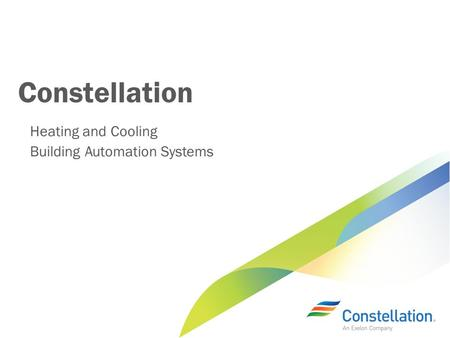 Constellation Heating and Cooling Building Automation Systems.