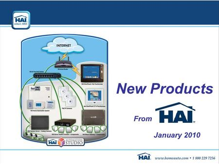 New Products From January 2010. What is Home Automation?  An automated home brings together security, fire, lighting, temperature control, audio, home.