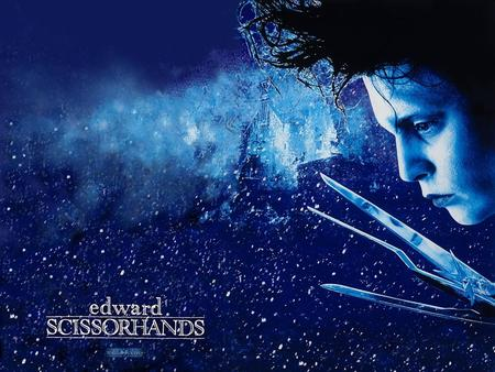 Edward Scissorhands is a 1990 film directed by Tim Burton and co-written by Burton and screenwriter Caroline Thompson. It stars Johnny Depp as Edward.