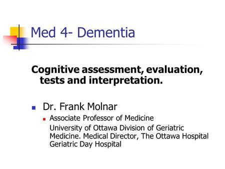 cognitive test for delirium pdf