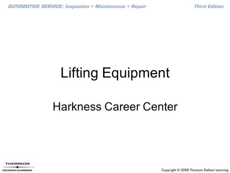 Harkness Career Center
