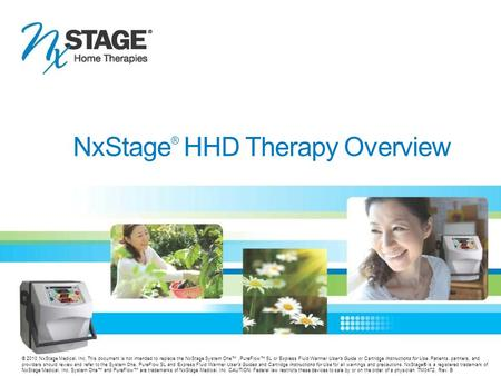 NxStage® HHD Therapy Overview