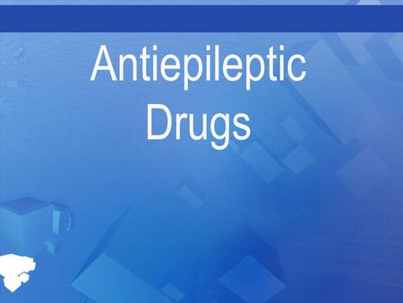 Antiepileptic Drugs. Overview Seizures are sudden episodes of neurological dysfunction caused by abnormal electrical activity of the brain Seizures are.