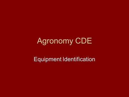 Agronomy CDE Equipment Identification. Choose Correct answer What protection does this offer? A. Hearing protection B. Skin protection C. Ventilation.