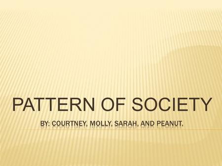 PATTERN OF SOCIETY.  1 st plantations emerged in early settlements of Virginia and Maryland.  Death was an everyday occurrence due to the hard working.