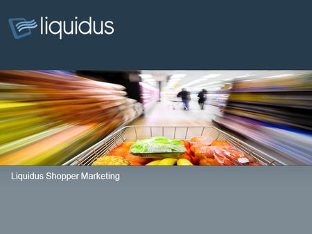 WebMD Bannerlink Product Capabilities Presentation Liquidus Shopper Marketing.