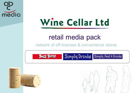 Network of off-licenses & convenience stores retail media pack.