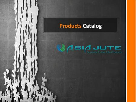 Products Catalog. ECO FRIENDLY JUTE SHOPPING BAG Carbon Free Products.