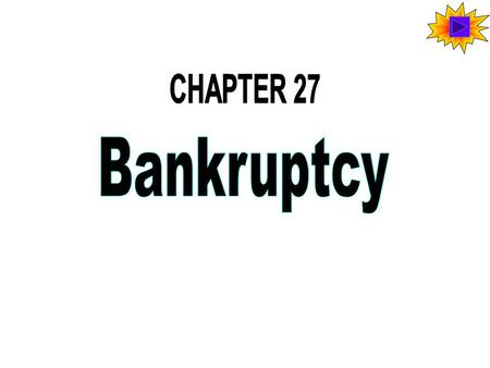 Bankruptcy and its English Origin In early English law, those unable to pay their debts went to debtor's prison. The goal of English bankruptcy law was.
