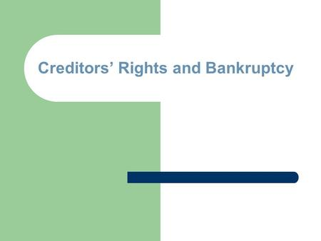 """is bankruptcy really a fresh start The avowed goal of bankruptcy is to give debtors a """"fresh start"""" the """"automatic stay"""" in bankruptcy applies immediately once a case is filed and generally halts all collection activities, foreclosures, repossessions, sheriffs' sales, and etc while in effect."""