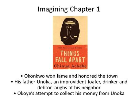 okonkwo and his relationship with father