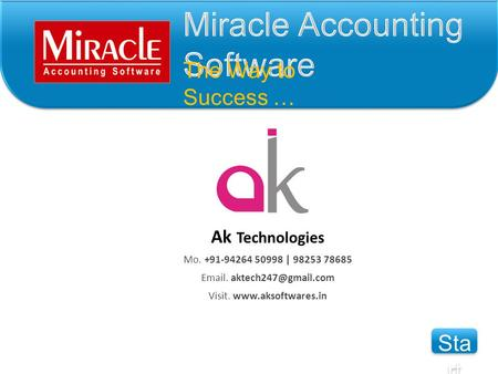 Miracle Accounting Software